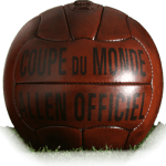 Allen is official match ball of World Cup 1938
