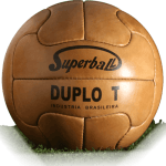 Duplo T is official match ball of World Cup 1950