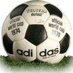 Telstar Durlast is official match ball of World Cup 1974