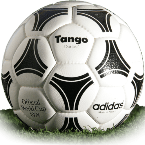 Tango Durlast is official match ball of World Cup 1978