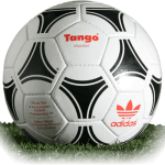Tango Mundial is official match ball of Euro Cup 1984