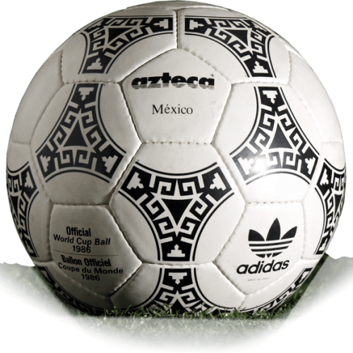 reputación Grave alcanzar  Adidas Azteca is official match ball of World Cup 1986 | Football Balls  Database