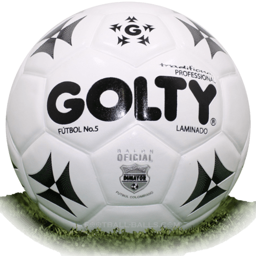 Golty Traditional is official match ball of Liga Aguila 1988-2002
