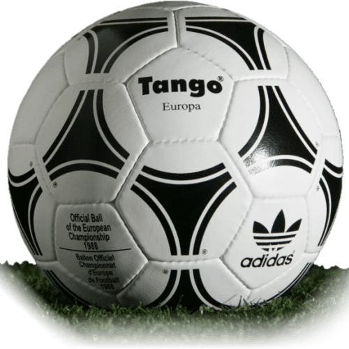 Tango Europa is official match ball of Euro Cup 1988