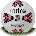 Mitre Pro Max is official match ball of Premier League 1992-1995