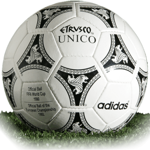 Etrusco Unico is official match ball of Euro Cup 1992