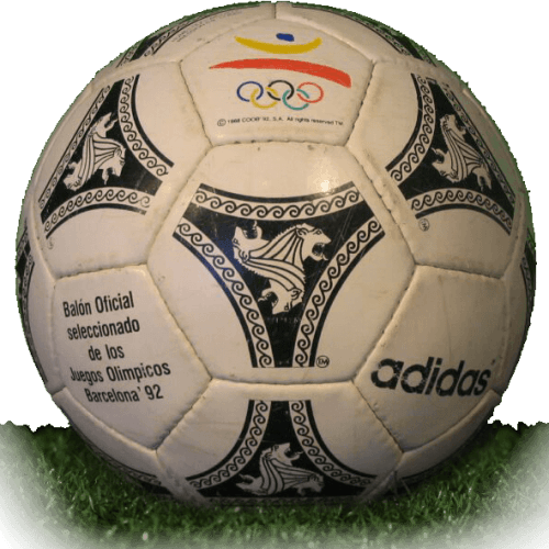 Etrusco Unico is official match ball of Olympic Games 1992