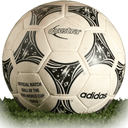 Adidas Questra is official match ball of World Cup 1994