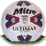 Mitre Ultimax is official match ball of Premier League 1995-2000