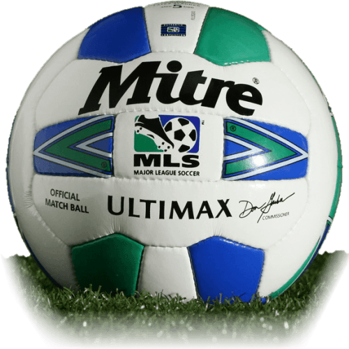 MLS Mitre Ultimax is official match ball of MLS 1996-2000