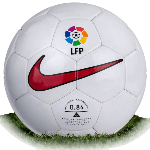 Nike NK 850 Geo is official match ball of La Liga 1997/1998