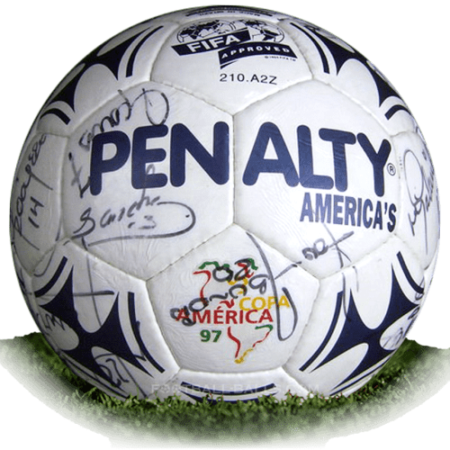Penalty Americas is official match ball of Copa America 1997