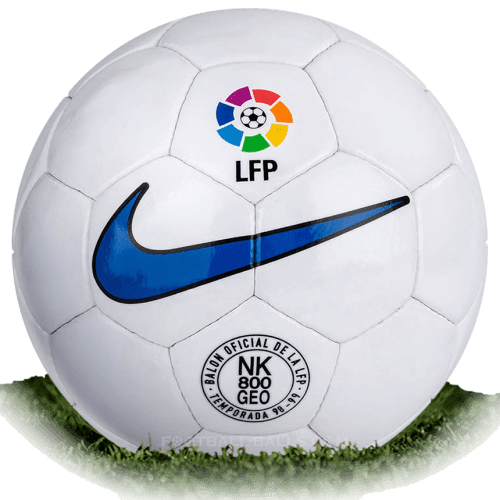 Nike NK 800 Geo is official match ball of La Liga 1998/1999