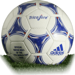 Tricolore is official match ball of World Cup 1998