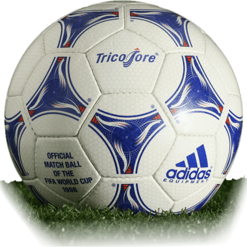 Adidas Tricolore is official match ball of World Cup 1998
