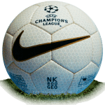 Nike NK 800 Geo is official match ball of Champions League 1999/2000