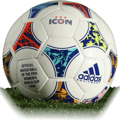 Adidas Icon is official match ball of Women's World Cup 1999