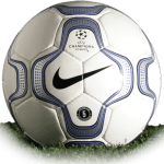 Nike Geo Merlin is official match ball of Champions League 2000/2001