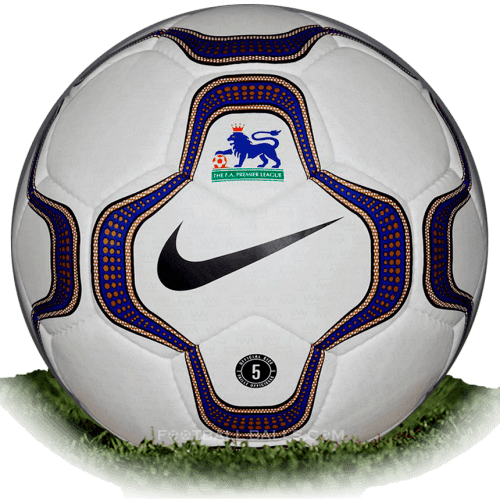 factory outlets 100% quality on feet at Nike Geo Merlin is official match ball of Premier League 2000 ...