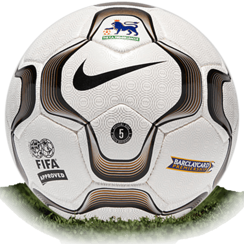 Nike Geo Merlin is official match ball of Premier League 2000-2004