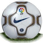 Nike Geo Merlin is official match ball of La Liga 2001/2002