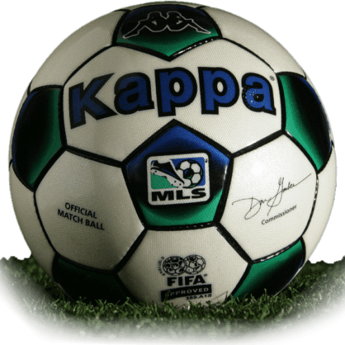 Kappa is official match ball of MLS 2001-2002