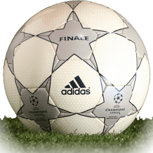 Adidas Finale 1 is official match ball of Champions League 2001/2002