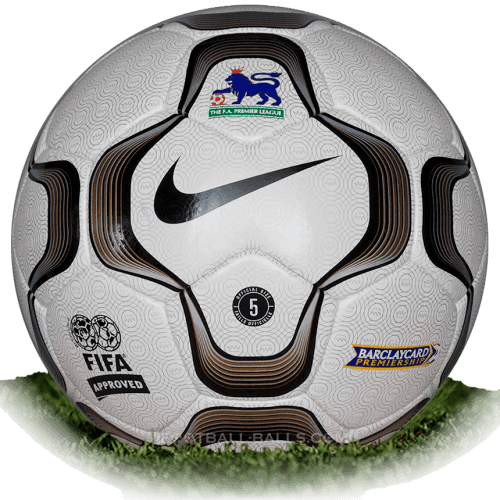Nike Geo Merlin Vapor is official match ball of Premier League 2002-2004