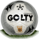 Golty Magnum Gris is official match ball of Liga Aguila 2002-2005