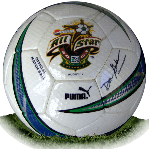 Puma All Star is official match ball of MLS 2003-2004
