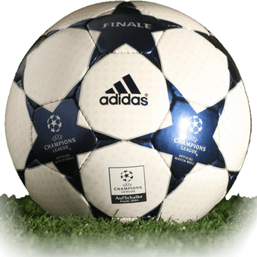 Adidas Finale AufSchalke is official final match ball of Champions League 2003/2004
