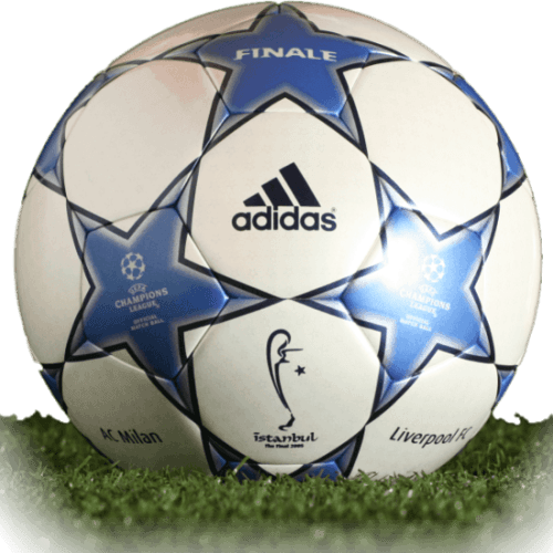 Adidas Finale Istanbul is official final match ball of Champions League 2004/2005