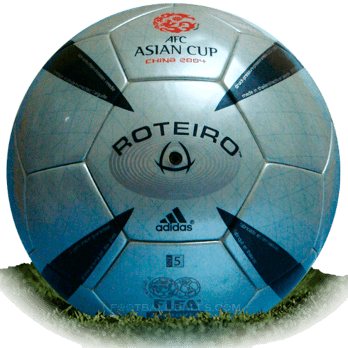 Roteiro is official match ball of Asian Cup 2004