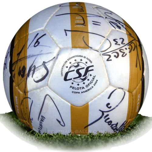 Nike Total 90 Aerow CSF is official match ball of Copa America 2004