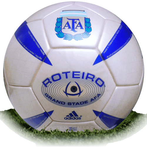 Roteiro AFA is official match ball of Argentina Primera Division 2005