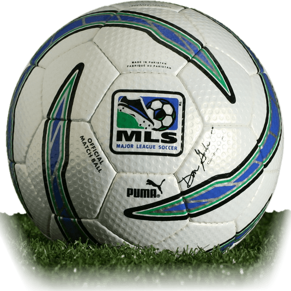 half off a1c56 e9afd Puma MLS 2005 is official match ball of MLS 2005