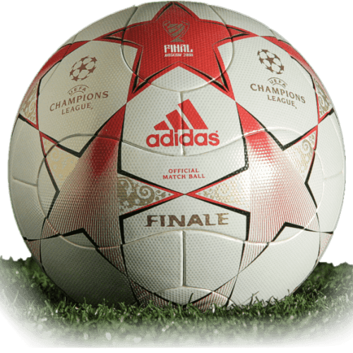 Adidas Finale Moscow is official final match ball of Champions League 2007/2008