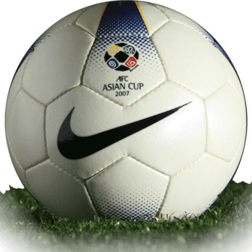 Mercurial Veloci is official match ball of Asian Cup 2007