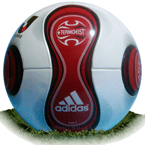 Adidas Teamgeist Red is official match ball of J League 2007