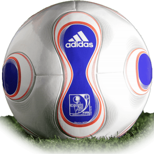 Teamgeist is official match ball of Women's World Cup 2007