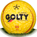 Golty El Dorado is official match ball of Liga Aguila 2008-2010