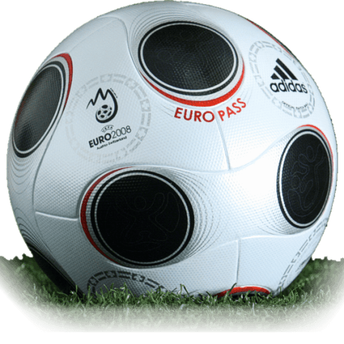 Europass is official match ball of Euro Cup 2008