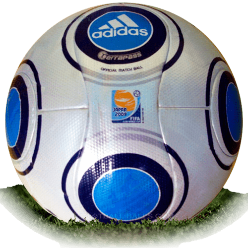 Adidas Terrapass is official match ball of Club World Cup 2008