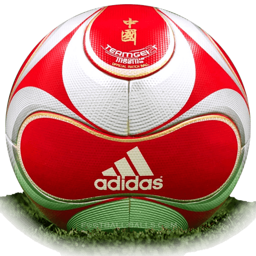 Teamgeist 2 Magnus Moenia is official match ball of Olympic Games 2008