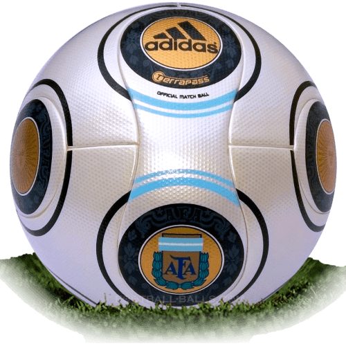 Terrapass AFA is official match ball of Argentina Primera Division 2009-2010