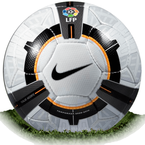 Nike Total 90 Ascente is official match ball of La Liga 2009/2010