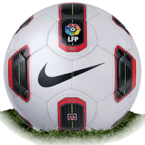Nike Total 90 Tracer is official match ball of La Liga 2010/2011