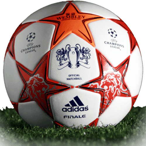 Adidas Finale Wembley is official final match ball of Champions League 2010/2011