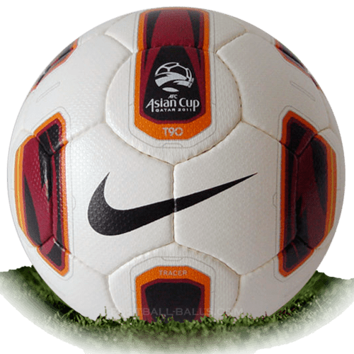 Nike Total 90 Tracer is official match ball of Asian Cup 2011