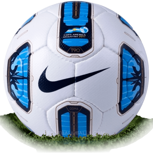 Nike Total 90 Tracer Doma is official match ball of Copa America 2011